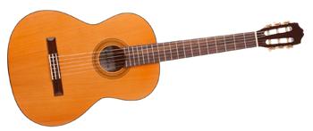 Een van de soorten gitaren is een klassieke gitaar
