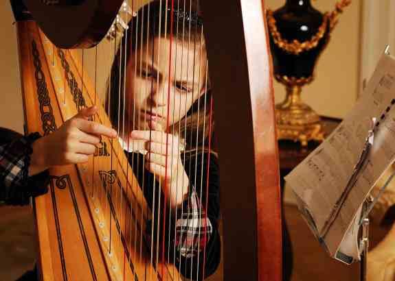 Voordelen van de harp spelen