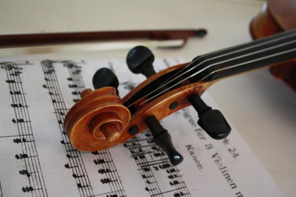 Effect van een instrument bespelen