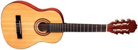 De halve gitaar maat