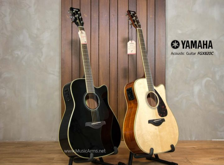 De Yamaha FGX820C