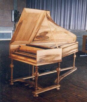 Gottfried Silbermann Piano
