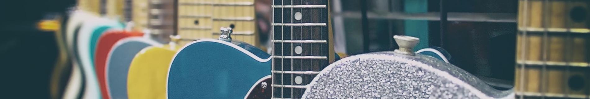 Verschillende gitaar maten